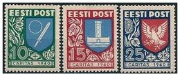Estonia/Estonie: Stemmi Di Provincie, Armoiries Des Provinces, Coats Of Arms Of The Provinces - Francobolli