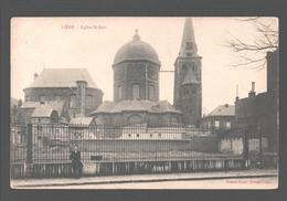 Liège - Eglise St-Jean - éditeur Fenix, Herstal-Liège - Dos Simple - Luik