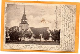 Otsergotl Sweden 1903 Postcard - Sweden