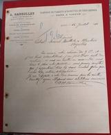 DOCUMENTO  12 JULHO 1910 A MARSOLLET 48 RUE DU BAL-CHAMPETRE 48 LOUVIERS EURE - Portugal