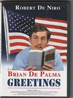 """DVD   GREETING  """" RARE  """"  De BRIAN DE PALMA Avec ROBERT DE NIRO   Etat: TTB Port 110 Gr Ou 30 Gr - Classic"""