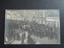 Belgique  België  ( 241 )    Moerbeke   Carte Photo   Fotokaart Van Begrafenis *** ZEER ZELDZAAM *** - Moerbeke-Waas