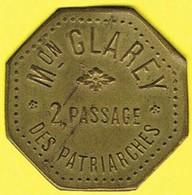 Nécessité - Jeton De Bal - GLAREY - Paris 5ème - Monétaires / De Nécessité