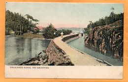 Dalslands Kanal Sweden 1905 Postcard - Sweden