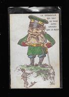 C.P.A. ILLUSTREE ... CARICATURE GUILLAUME 2 - Guerre 1914-18