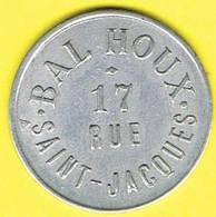Nécessité - Jeton De Bal - HOUX - Paris 5ème - Monétaires / De Nécessité