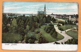 Umea Sweden 1905 Postcard - Sweden