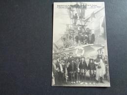 Belgique  België  ( 246 ) Moerbeke : Gedenkenis Van De Stoet Der Inhuldiging Van De H. Pastoor 1912 *** ZELDZAAM *** - Moerbeke-Waas