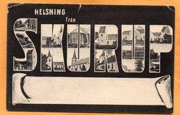 Helsning Fran Skurup Sweden 1909 Postcard - Sweden