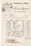 Vieux Papier - Facture -  Pierrot Lacroix  Epinal  - 1916  - Vosges -Mercerie Bonneterie Commerce En Gros - France
