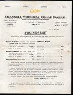 Paris 10e : Rue Des Petites écuries: Tarif    O'CEDAR  1923 (PPP20070) - Pubblicitari