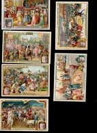 THMS  Chromos Liébig  Série De 6 Le Carnaval à Différentes époques - Liebig