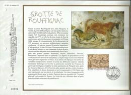 N°: 1827 DU CATALOGUE CEF. GROTTE DE ROUFFIGNAC . 25 MAI 2006 . ROUFFIGNAC - SAINT - CERNIN - DE - REILHAC . - FDC