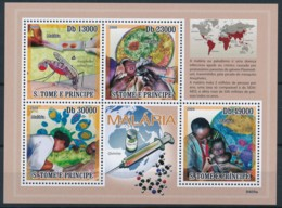[401607]TB//**/Mnh-Sao Tomé-et-Principe 2006 - Malaria, Maladie, Santé, Médecine, Insectes - Malattie