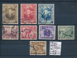 BELGIAN CONGO COB 194/195 + 209/213 USED - 1923-44: Gebraucht