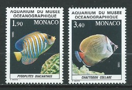 MONACO 1986 . N°s 1541 Et 1542 . Neufs ** (MNH) - Neufs