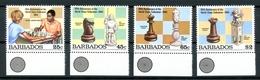 Barbados MiNr. 609-12 Postfrisch MNH Schach (Scha76 - Barbados (1966-...)