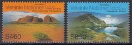 UNO Wien MiNr. 279/80 ** UNESCO-Welterbe: Australien - Sonstige - Europa