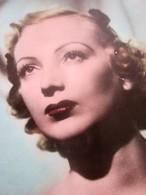 Blanche Mireille Césarine Balin Carte Postale Photo Thème Spectacle Actrice Française Cinema Années 30/ Studio Harcourt - Entertainers