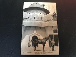13 - Chateau De CHAUMONT SUR LOIRE Les Ecuries, Le Manege - 1911 Timbrée - France