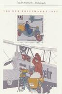 PIA  -  GERMANIA   -  1997  : Giornata Del Francobollo - Trasporto Della Posta Con Aereo E Veicolo- (Yv Bf 40) - Giornata Del Francobollo