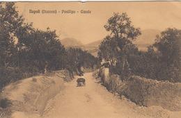 NAPOLI-DINTORNI POSILLIPO-CASALE CARTOLINA VIAGGIATA IL 12-1-1910 - Napoli (Naples)
