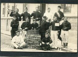 Carte Photo - Militaires - 135è Régiment D'Infanterie, Classe 1904 - Regimientos