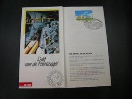 "BELG.1991 2404 Filatelic Folder NL.(Aalst) : "" Journée Du Timbre 1991 Dag V/d Postzegel "" - FDC"
