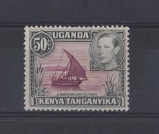 K.U.T.....KING GEORGE VI.(1936-52).....50c......SG144c.......MH... - Kenya, Ouganda & Tanganyika