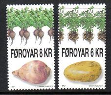 DANMARK Foroyar 0704/05 Pomme De Terre, Betterave - Vegetables