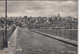 GELA -  Panorama   1950 Er - Caltanissetta