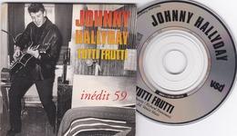 JOHNNY HALLYDAY Tutti Frutti ,INEDIT 59 ((lot 433  )) - Spezialformate