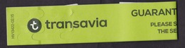 Transavia Airlines, Netherlands: Luggage Label, Baggage Tag, Cabin Baggage (traces Of Use) - Baggage Etiketten