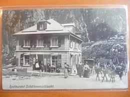 CPA - Suisse - Restaurant Schöllenenschlucht -Andermatt - Göschenen - UR Uri