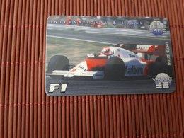 Phonecard F1 Car (Mint,Neuve) Rare - Voitures