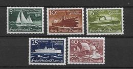 1938 MNH Danzig - Dantzig