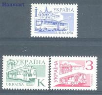 Ukraine 1995 Mi 156-158 MNH ( ZE4 UKR156-158 ) - Ukraine