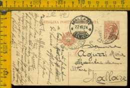 Regno Cartolina Intero Postale Michetti Savona Mallare - 1900-44 Vittorio Emanuele III