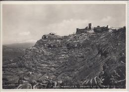 ENNA - Castello Di Lombardia Ed Il Tempio Di Cerere 1950 Er - Enna
