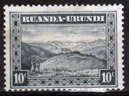 Ruanda-Urundi 1931 Single 105c Stamp From The Definitive Set. - Ruanda-Urundi