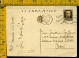 Regno Cartolina Intero Postale Imperiale Lecce Bari - 1900-44 Vittorio Emanuele III