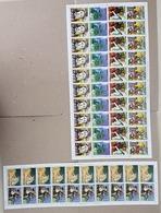 EC183 1981 PARAGUAY ART PABLO PICASSO !!! 2 BIG SH FOLDED IN 2,3 MNH - Art
