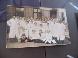 Carte Photo Radiographie Radiologues Clinique électrothérapie Militaire Sur Paneau - Berufe