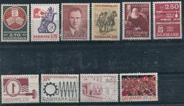 Denmark. 10 Different Stamps** - Dinamarca