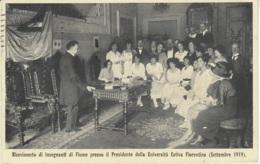 Cartolina Firenze 1919 Università Estiva Fiorentina Animata - Firenze (Florence)