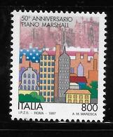 Italy 1997 Marshall Plan MNH - 1991-00: Neufs