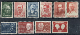 Denmark. 10 Different Stamps** - Lotes & Colecciones