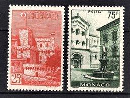 MONACO 1954 -  Y.T. SERIE Du N° 397 A 398 - 2 TP NEUFS** /5 - Nuovi