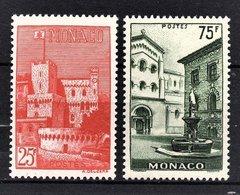 MONACO 1954 -  Y.T. SERIE Du N° 397 A 398 - 2 TP NEUFS** /6 - Monaco