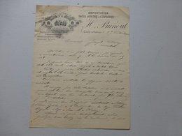 Oulchy-le-Château 1903  Aux Institutrices, Soies à Coudre Etc Lettre Autographe Ref 570 ; PAP06 - Frankreich